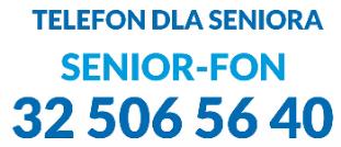 "Telefon dla Seniora ""SENIOR-FON"