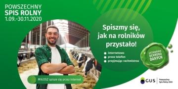Powszechny Spis Rolny 2020 - nabór kandydatów na rachmistrzów spisowych