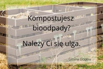 Kompostujesz bioodpady? Należy Ci się ulga w opłacie za gospodarowanie odpadami komunalnymi