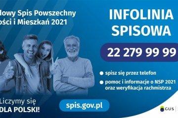 Informacja jak spisać się w Narodowym Spisie Powszechnym