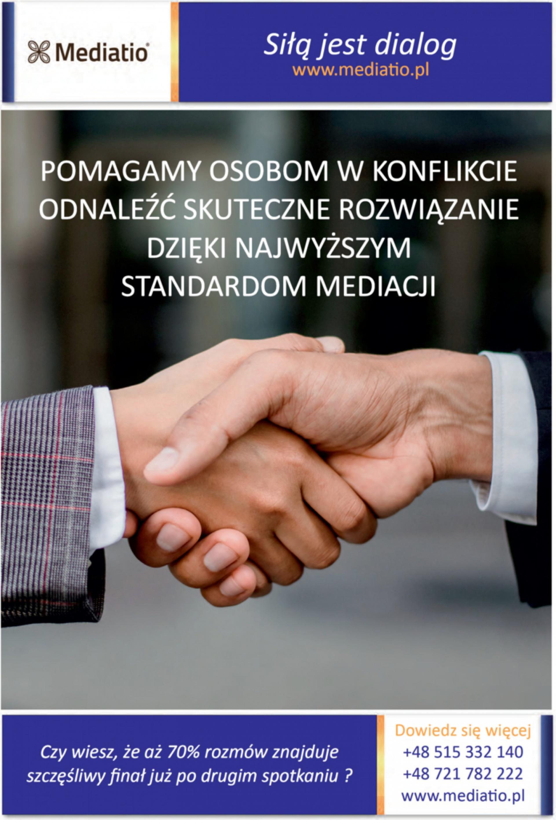 Fundacja Mediatio Siła jest dialog